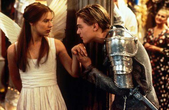 tre canti per Leonardo Di Caprio e Claire danes romeo e giulietta labrouge