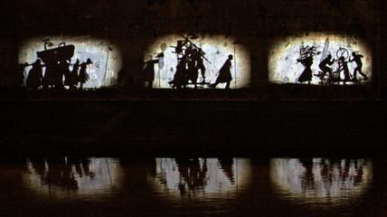 William Kentridge sulle sponde del Tevere intervento murale site specific con lo smog labrouge