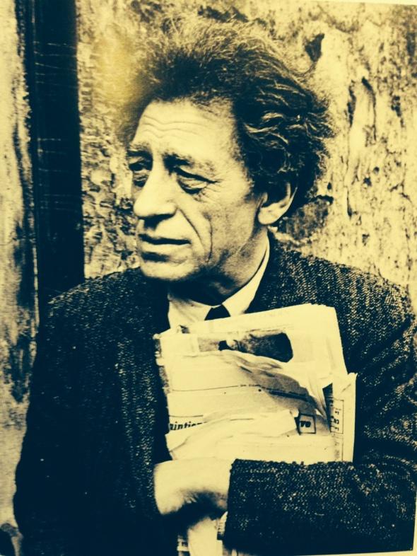 M.B. il piacere dell'occhio Alberto Giacometti by Henry Carter Bresson Biffi arte Piacenza labrouge