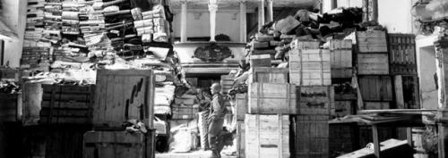 monuments men dal libro al film  casse opere labrouge pino farinotti