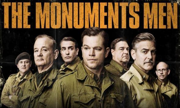 monuments men dal libro al film clooney  manifesto labrouge pino farinotti