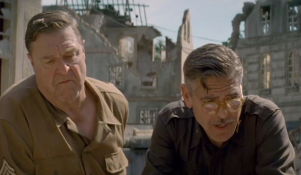 monuments men dal libro al film john goodman george clooney labrouge pino farinotti