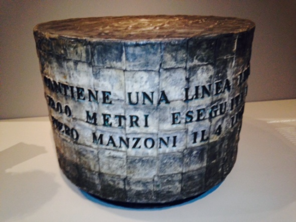 Piero Manzoni 1933-1963 a Palazzo Reale Linea labrouge