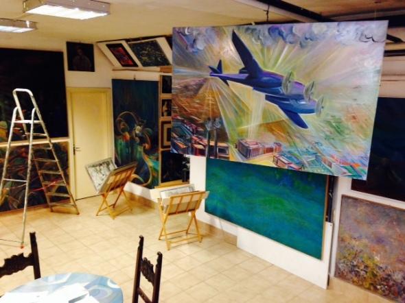 Fernando Sammarone Futurismo aereo Open studio  via Arbe 55 Milano