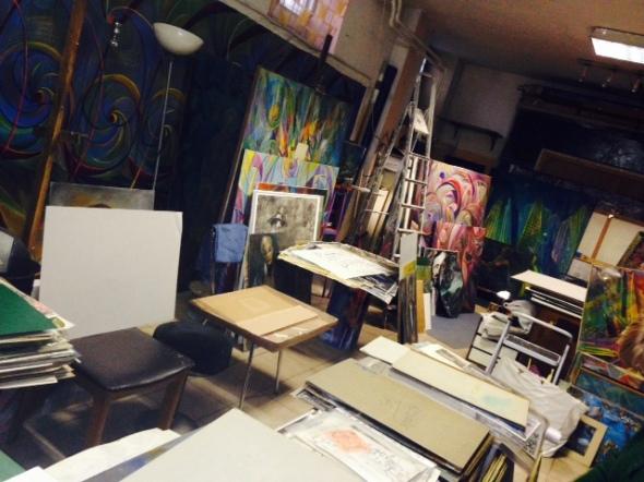 Fernando Sammarone Open studio  via Arbe 55 Milano