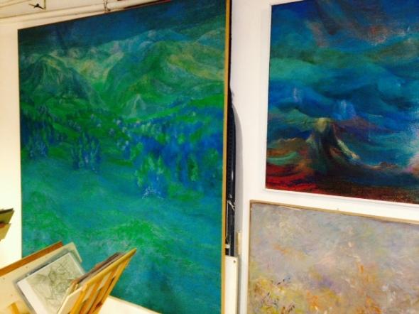 Fernando Sammarone Paesaggi Open studio  via Arbe 55 Milano
