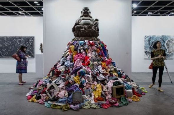 art basel Hong Kong Michelangelo Pistoletto Mazzoleni 15 maggio cina labrouge