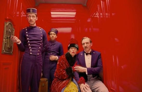 Grand Budaest Hotel e l'estetica di Wes Anderson ralph fiennes zero e tilda swinton  mymovies