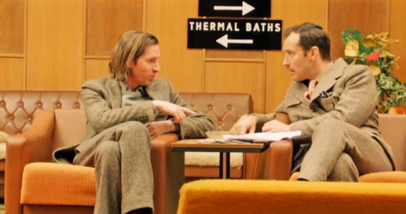 Grand Budaest Hotel e l'estetica di Wes Anderson the director and Jude Law  mymovies