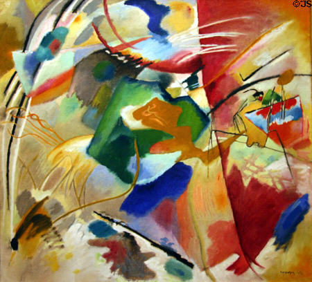 art Institute Chicago, Kandinsky labrouge