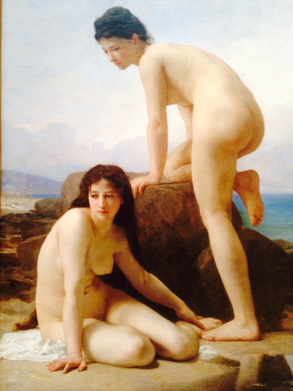 Art Institute Chicago,William-Adolphe Bouguereau The Bathers