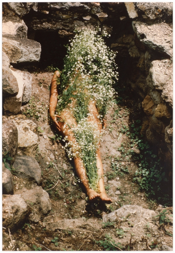 Contemporary art after Frida Kahlo Ana Mendieta body and nature  MAC Chicago labrouge