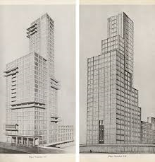 Jeff Carter interpretation of Walter Gropius Chicago Tribune Tower A study in Lost Opportunity The Mission, Chicago, labrouge