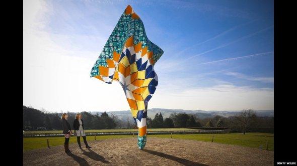 ynka shonibare Yorkshire sculpture park  @ Mca Chicago 3 wind sculptures Chicago labrouge