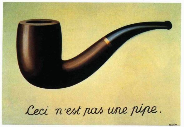 Rene Magritte, Ceci n'esta pas une pipe, The Mystery of the Ordinary 1926-1938 The Art Institute of Chicago, labrouge egg and bird