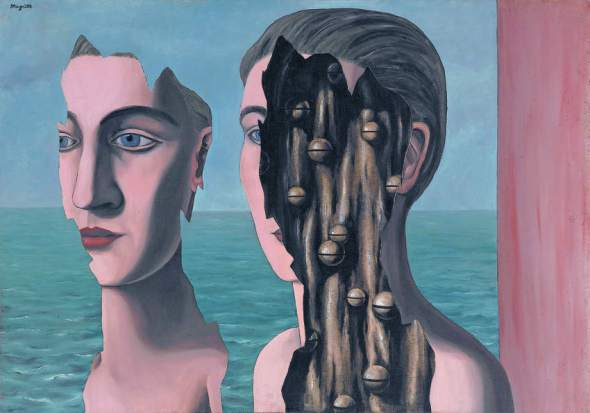 Rene Magritte, the Inside, The Mystery of the Ordinary 1926-1938 The Art Institute of Chicago, labrouge egg and bird