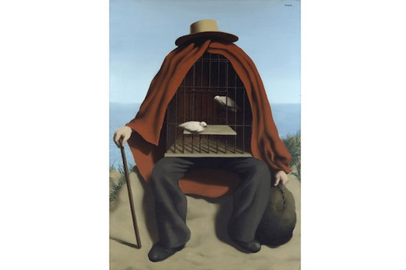 Rene Magritte  The Mystery of the Ordinary 1926 1938 The Art Institute of Chicago, labrouge egg and bird