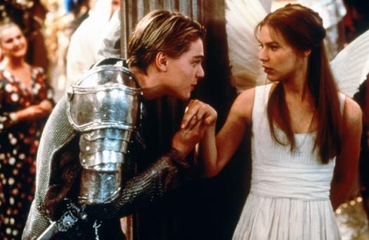 Romeo + Giulietta lurhman shakespeare negli anni labrouge pino farinotti