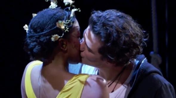 Romeo + Giulietta orloando bloom condola rashad  david leveaux shakespeare negli anni labrouge pino farinotti
