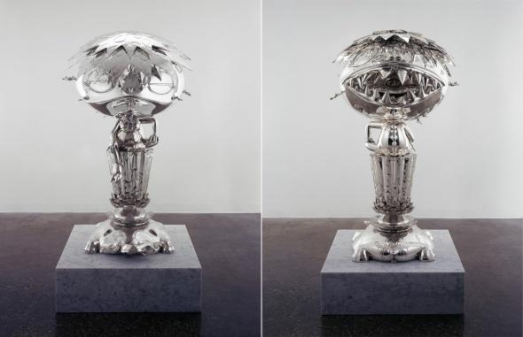 T-Murakami-1_Oval-Buddha-Silver-2008 palazzo reale milano a cura di francesco bonami labrouge