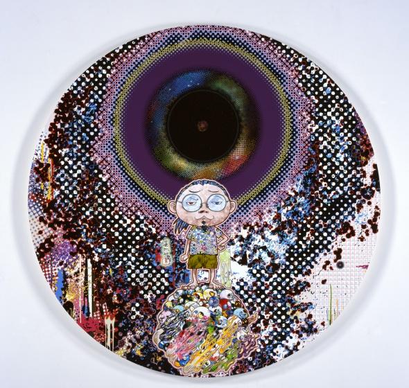 T-Murakami_Dark-Matter-and-Me-2014 palazzo reale milano labrouge