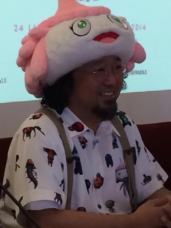 takashi murakambig hat i palazzo reale francesco bonami labrouge