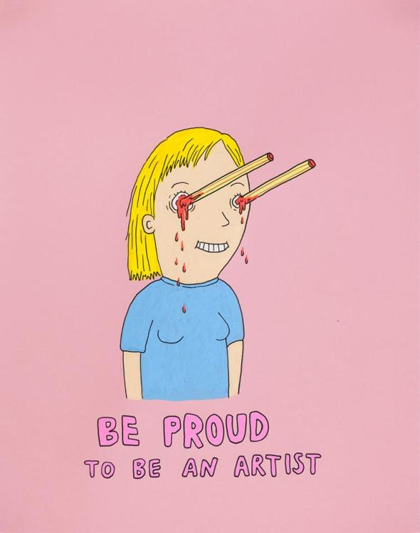 be proud to be an artist laurina paperina san francisco labrouge