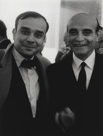 Ives Klein e Lucio Fontana Parigi Milano labrouge