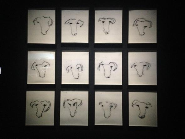 Joan Jonas light time tales Hangar Bicocca Milano drawings labrouge