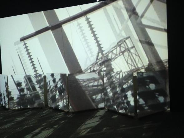 Joan Jonas light time tales Hangar Bicocca Milano video labrouge