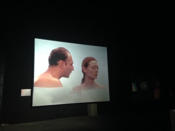 Joan Jonas light time tales Hangar Bicocca Milano video tilda labrouge