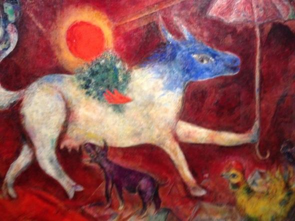 Marc Chagall asino Palazzo Reale 2015 labrouge