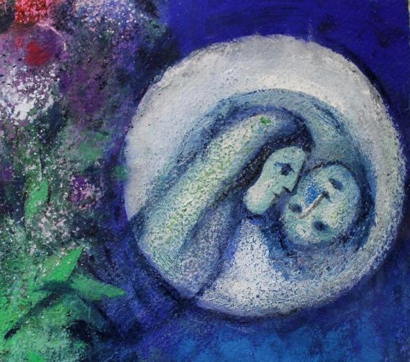 Marc Chagall gli innamorati blu Palazzo Reale 2015 labrouge