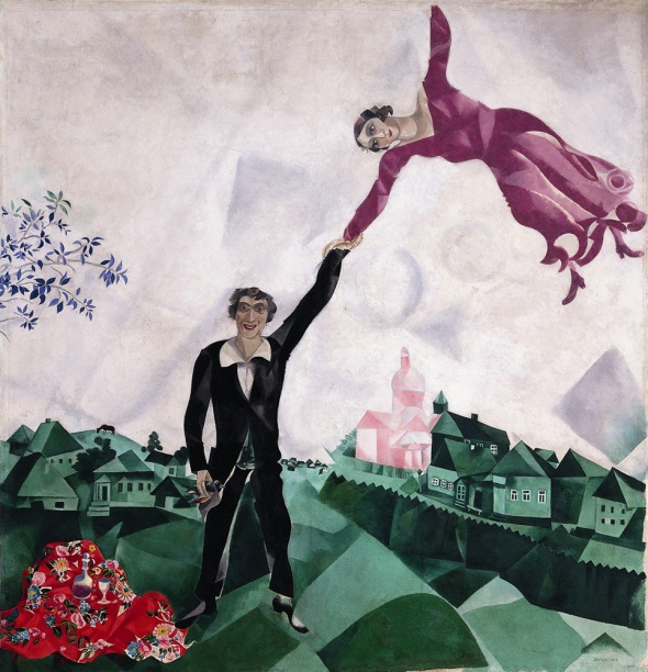 Marc Chagall gli innamorati Palazzo Reale 2015 labrouge