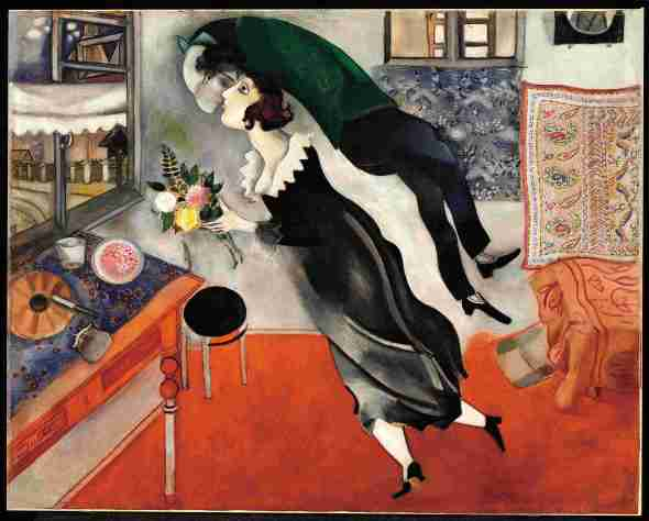 Marc Chagall il compleanno Palazzo Reale 2015 labrouge