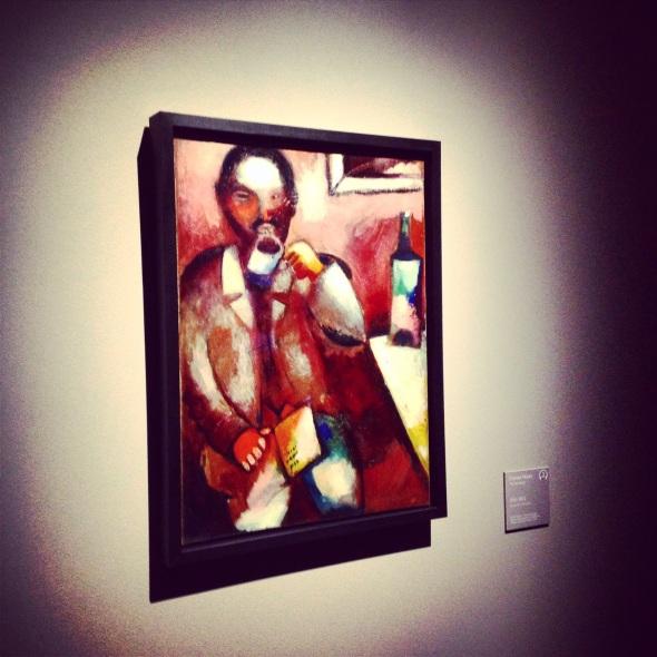 Marc Chagall poeta Palazzo Reale 2015 labrouge