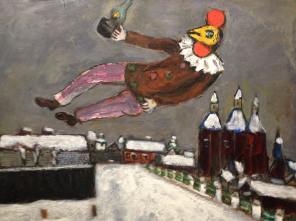 Marc Chagall pollo Palazzo Reale 2015 labrouge