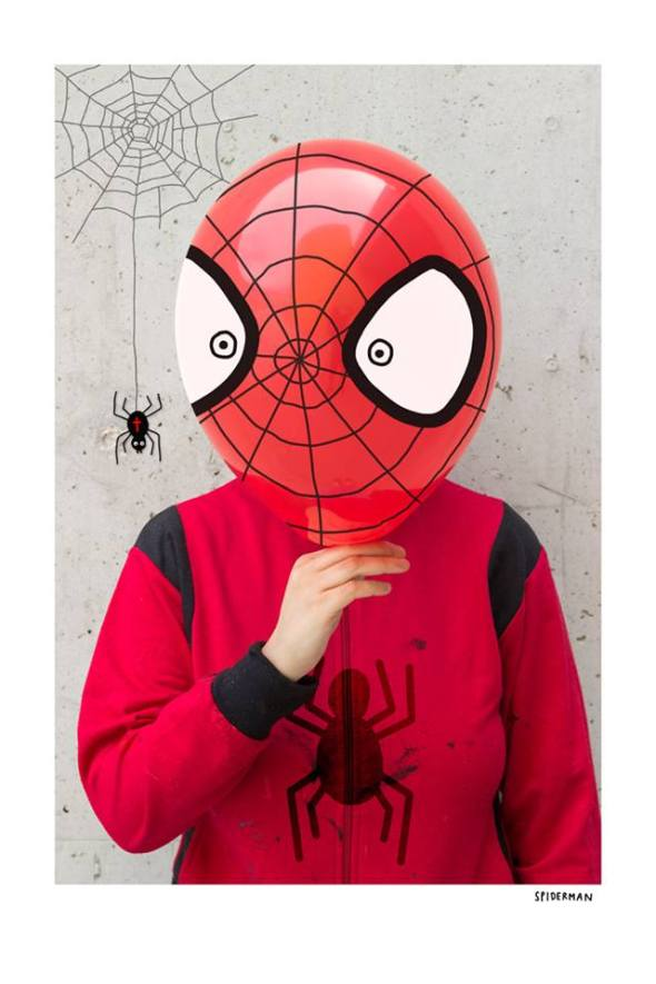 spiderman laurina paperina labrouge