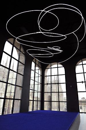 Yves Klein e Lucio Fontana museo 900 labrouge