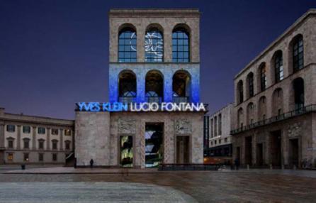 Yves Klein Lucio Fontana museo del 900