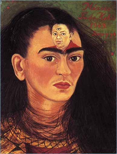 003_Frida Kahlo, Frida & Diego