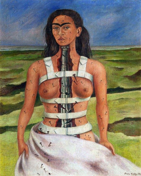 007_Frida Kahlo, la COlonna spezzata