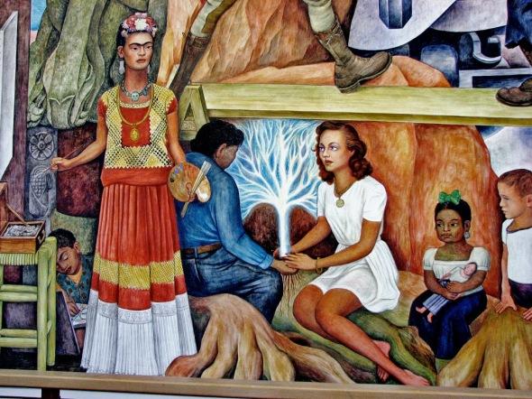 008_Frida Kahlo ritratta da Diego Rivera