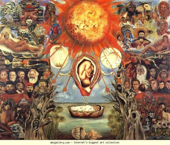 009_Frida Kahlo, Moses