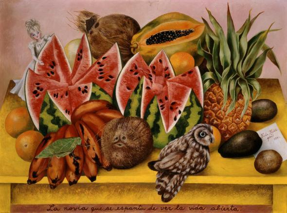 010_Frida Kahlo, La novia que se espanta de ver la vida abierta