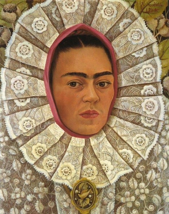 012_Frida-Kahlo, Autoritratto-1948