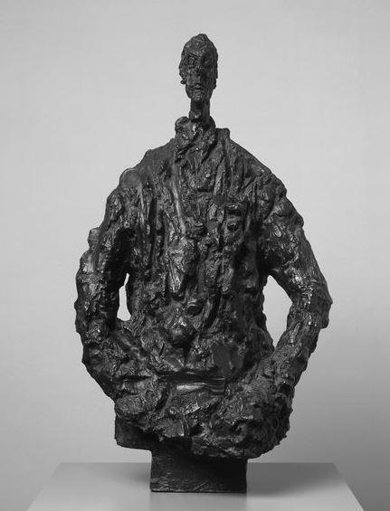 ALberto Giacometti-Diego-au-chandail-1953, GAM milano labrouge