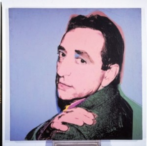 Lucio Amelio by andy warhol