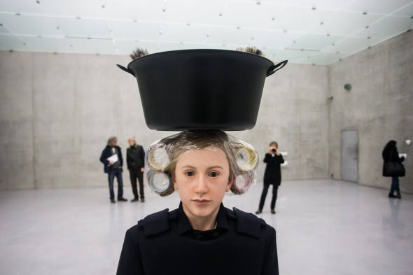 Rosemarie Trockel Bregenz khunstaus  labrouge