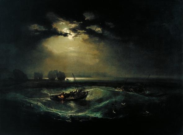 Turner, Fisherman at sea, Mike Leigh, il film sul grande maestro, di pino farinotti labrouge mymovies